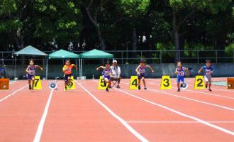 小学男子1年50m(写真提供:オールスポーツコミュニティ)