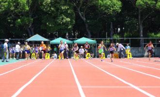 小学女子5年100m(写真提供:オールスポーツコミュニティ)