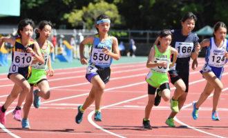 小学女子6年800m(写真提供:オールスポーツコミュニティ)