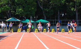 中学男子1年100m決勝(写真提供:オールスポーツコミュニティ)